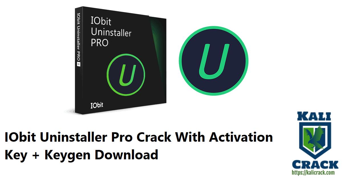 IObit Uninstaller Pro Crack With Activation Key + Keygen Download