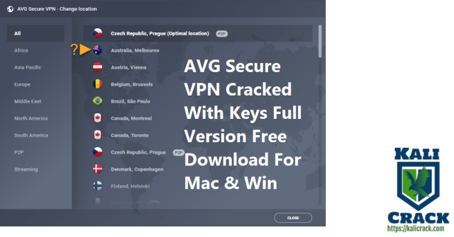 AVG Secure VPN Cracked With Keys Full Version Free Download For Mac & Win