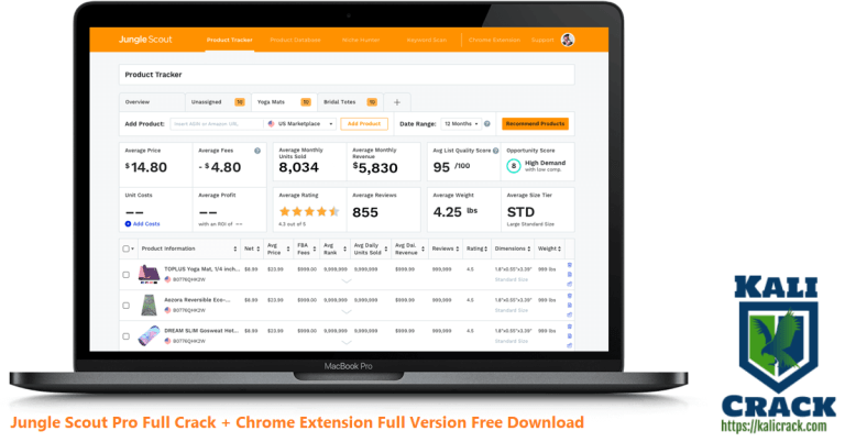 Jungle Scout Pro 4.3.1 Full Crack + Chrome Extension Download [2022]