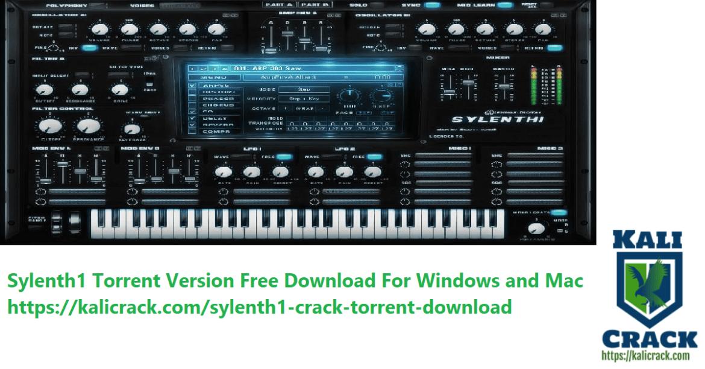 Sylenth1 free download mac