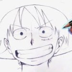 How to draw monkey D luffy || best way to draw luffy – アフィリエイト動画まとめ