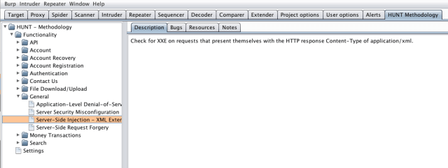 HUNT - Burp Suite Pro/Free and OWASP ZAP Extensions