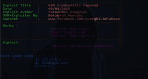 DVR-Exploiter