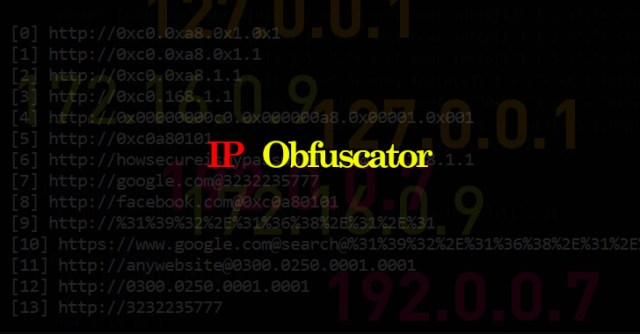 IP Obfuscator