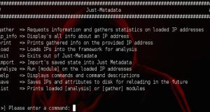 Just-Metadata