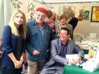 عمار مرياش يوقع كتابه – اكتشاف العادي – المترجم الى الفرنسية بسوق الشعر بباريس