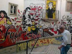 لشبونة ، وردة بوقاسي كلمات 12