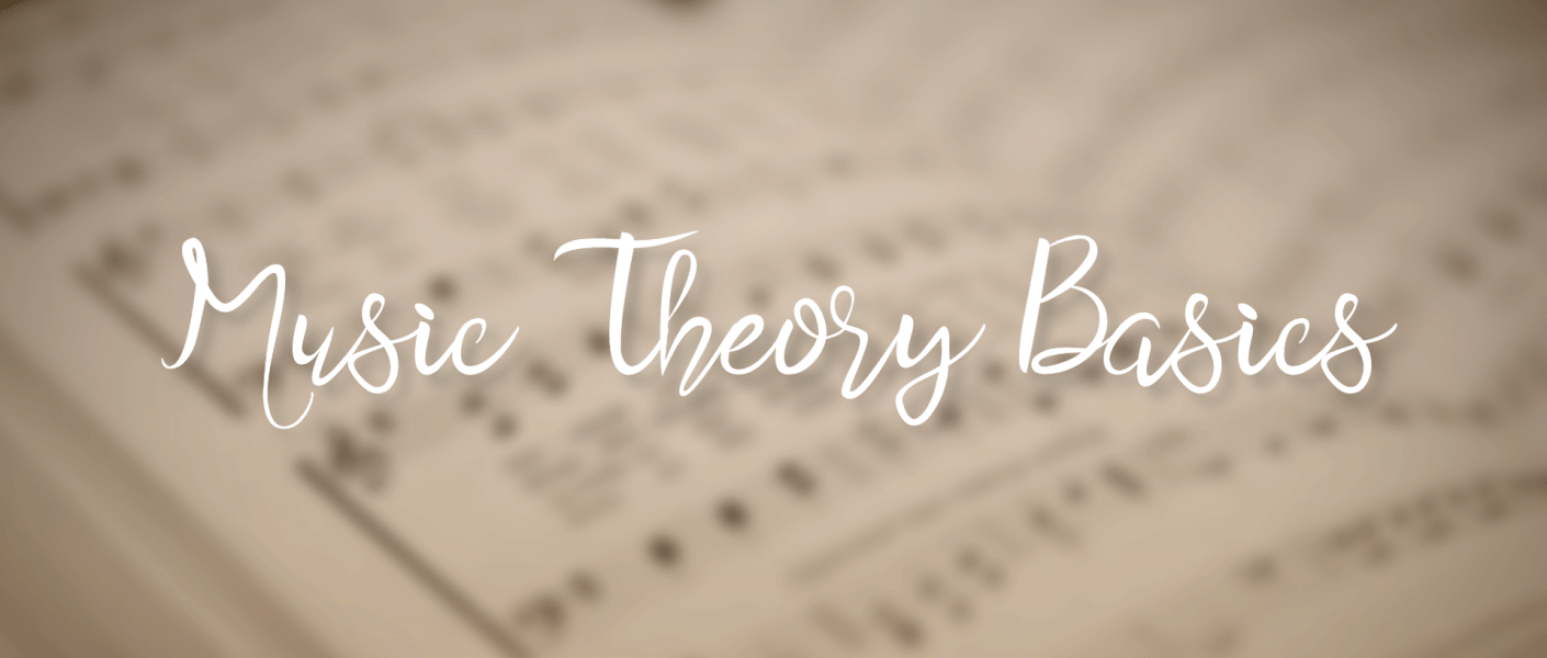 "title image with title ""Music Theory Basics"""