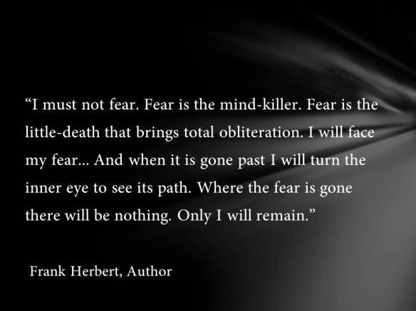 I must not fear