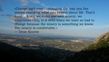 η αλλαγή δεν είναι εύκολη