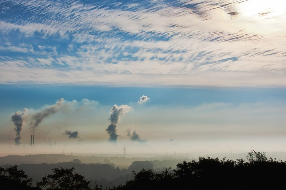 Κορωνοϊός - Ατμοσφαιρική ρύπανση