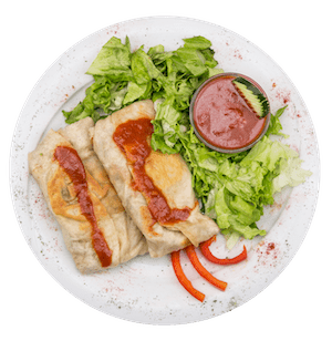 Chimichanga bancheros