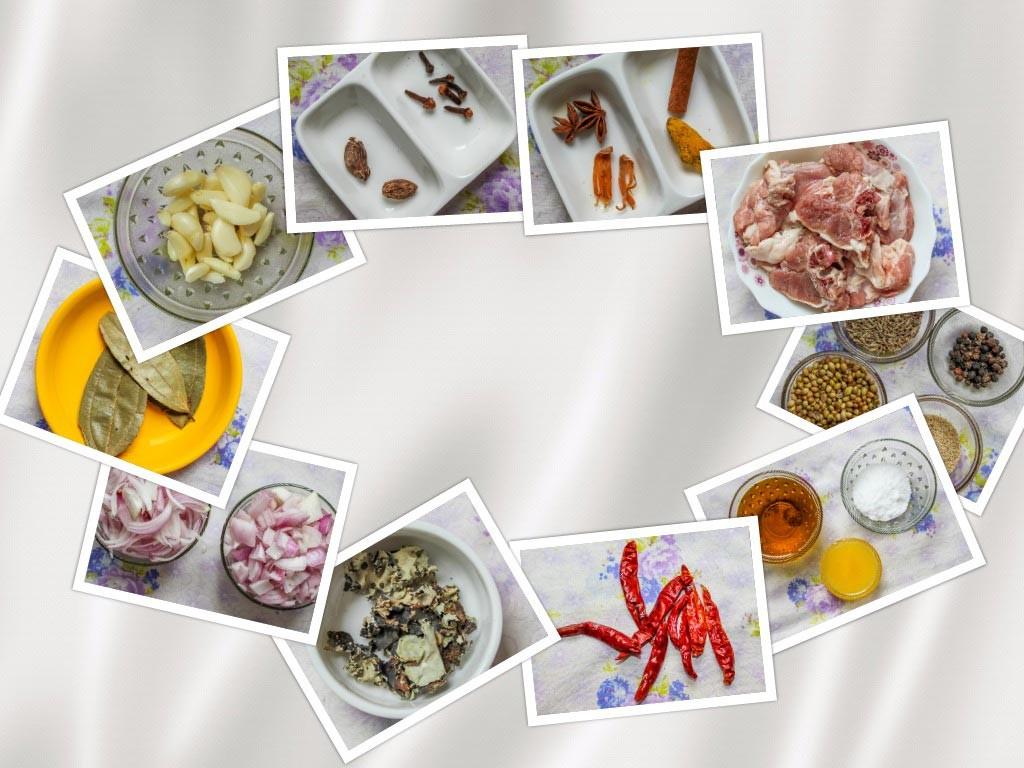 Mutton Curry Ingredients