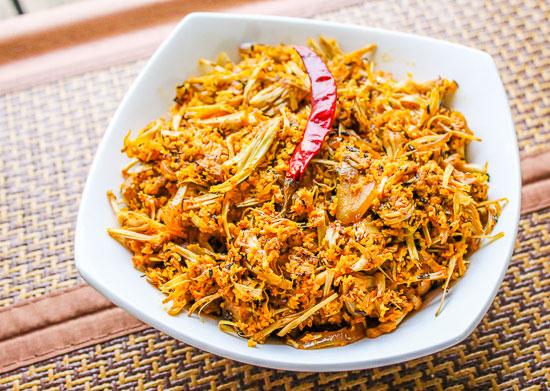 Konkani Phanasachi Bhaji