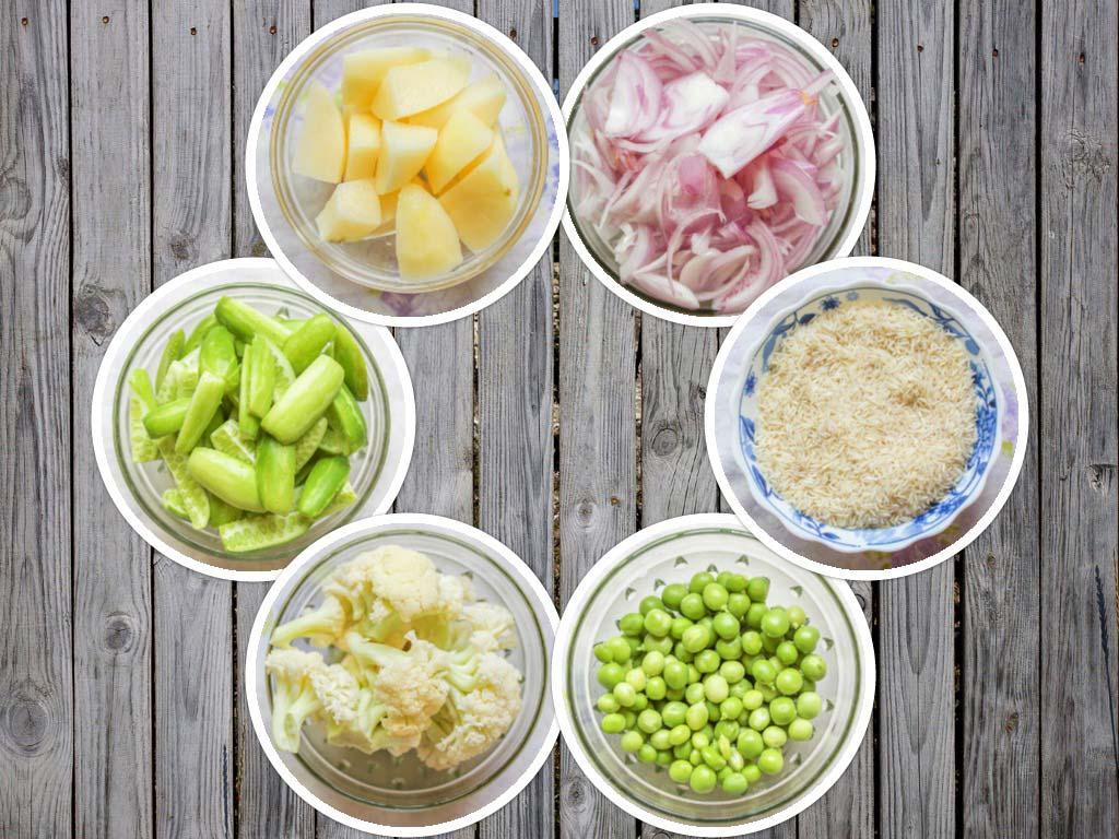 Masale Bhaat Ingredients