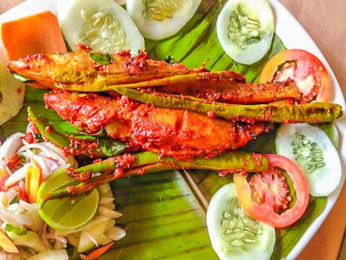 Mangalore fish fry