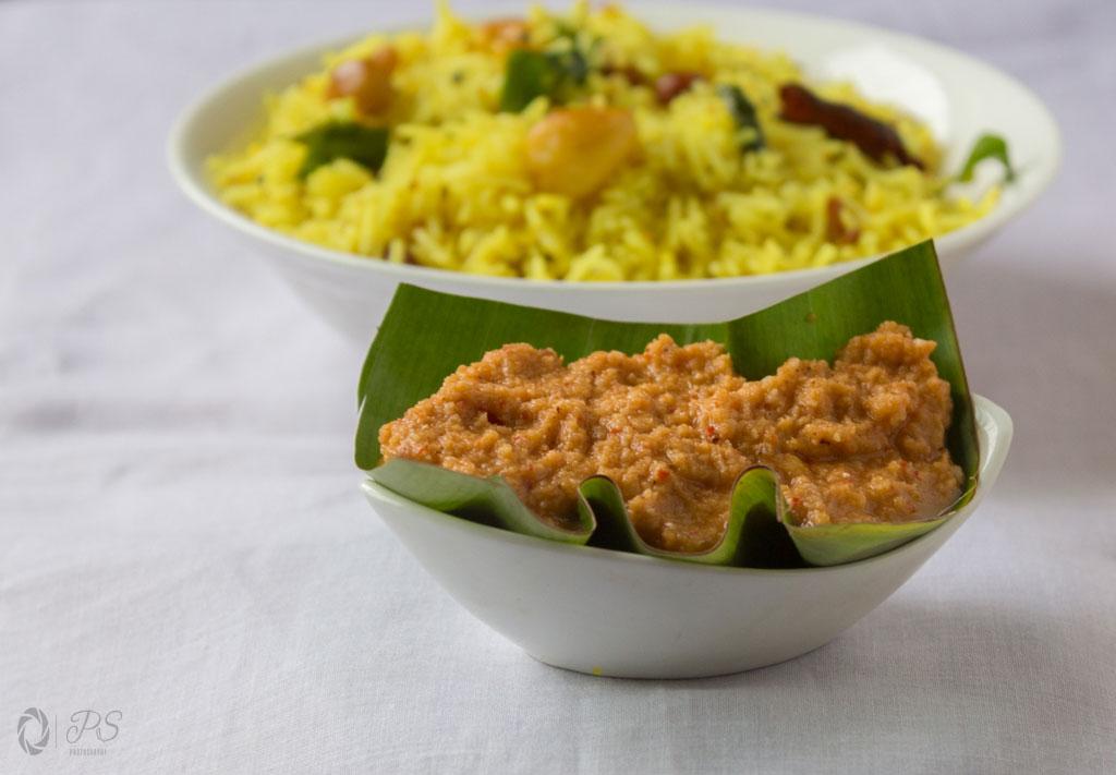 South Indian Garlic chutney