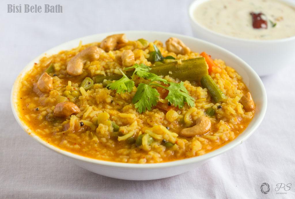 Bisi Bele Bath-Sambhar Rice