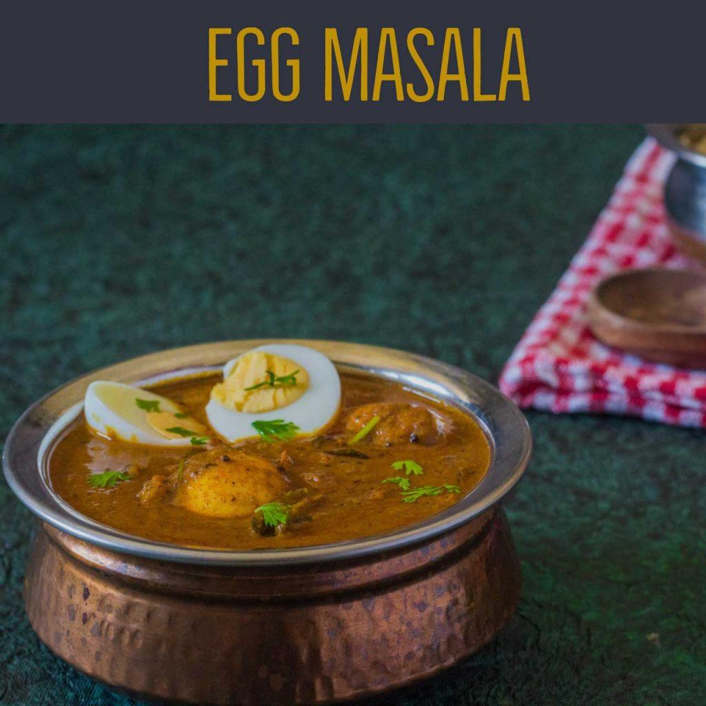 Anda Masala-Egg Masala