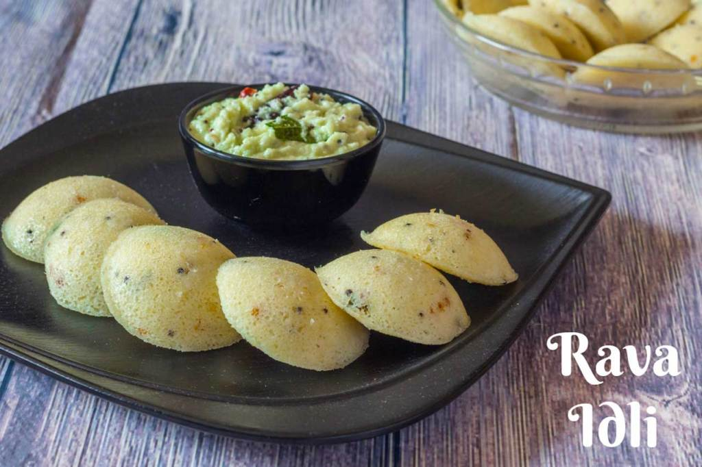 Rava Idli in Microwave