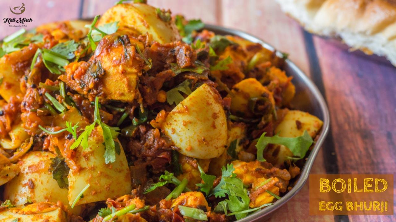 Boiled Egg Bhurji