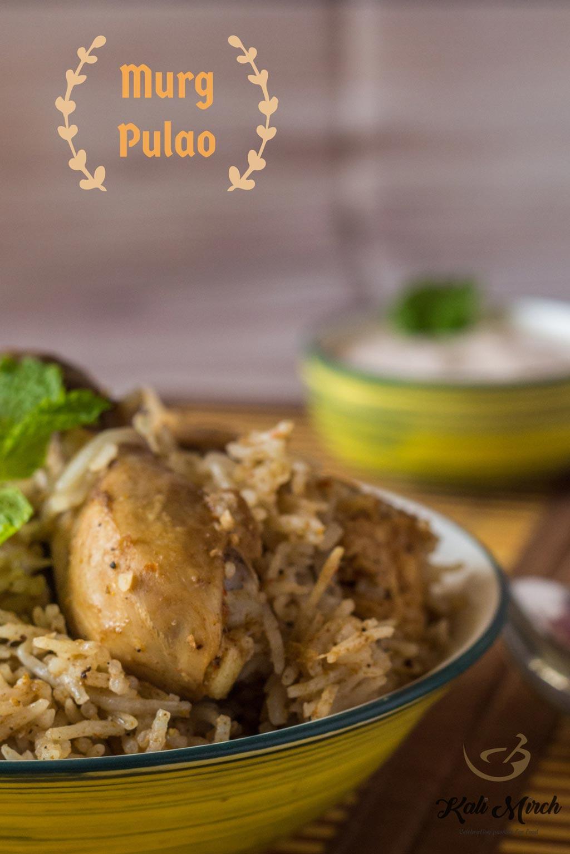 Murgh Pulao-Chicken Pulao