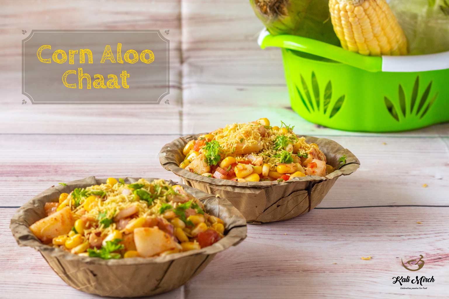 Corn Aloo Chaat