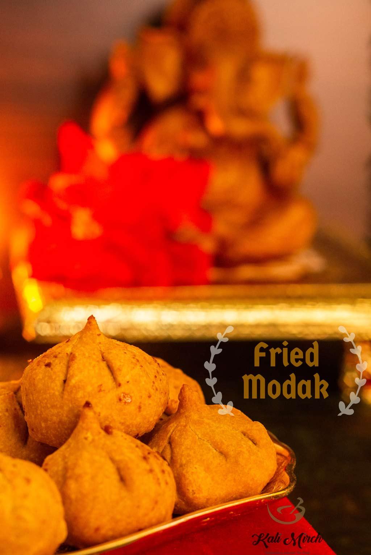 Fried Modak-Talniche Modak