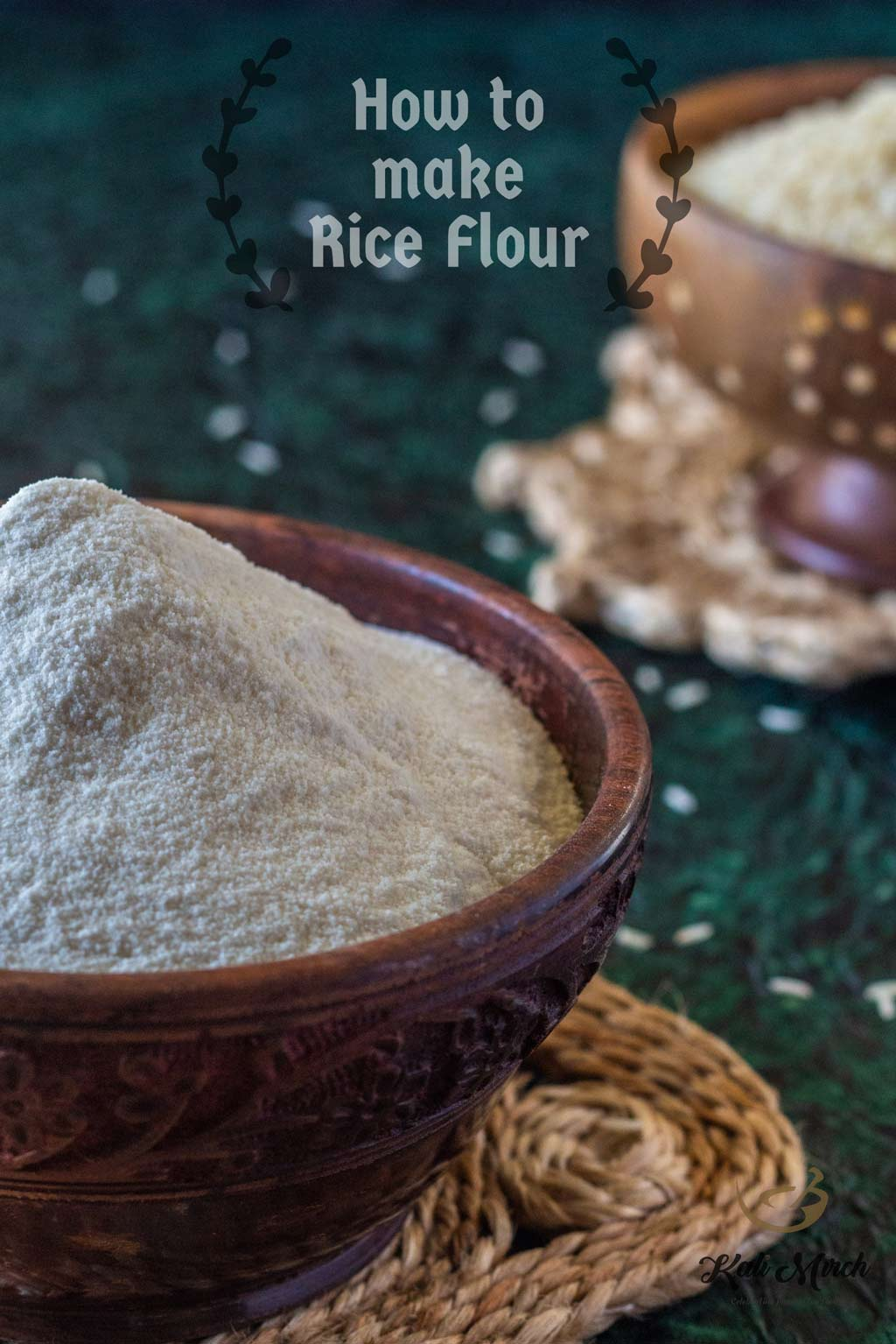 Rice Flour at Home