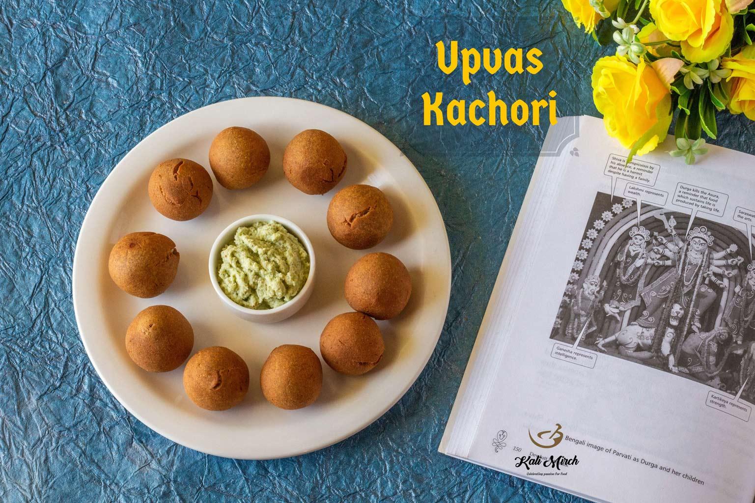 Upvas Kachori-Paneer Kachori