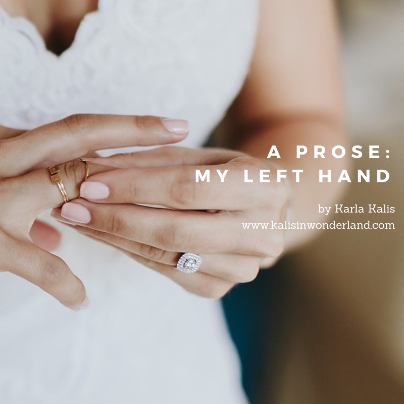 My Left Hand by Karla Kalis