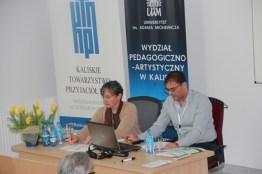 Sesja VIa, prowadzona przez prof. Francescę Zanellę; referat wygłasza mgr Guy Rak.
