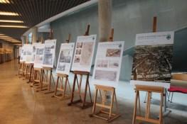 Wystawa historyczna w hallu - oprac. A. Tabaka i M. Hertmann.