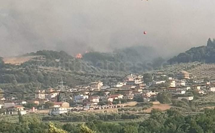 Ελεγχόμενη η φωτιά στη περιοχή Κερασιά του Θύριου Δήμου Άκτίου Βόνιτσας