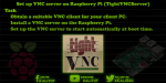 How to install vnc server on raspberry pi