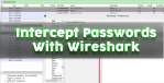 How to capture passwords with wireshark