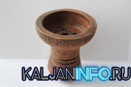 Так выглядит глиняная чаша для кальяна.