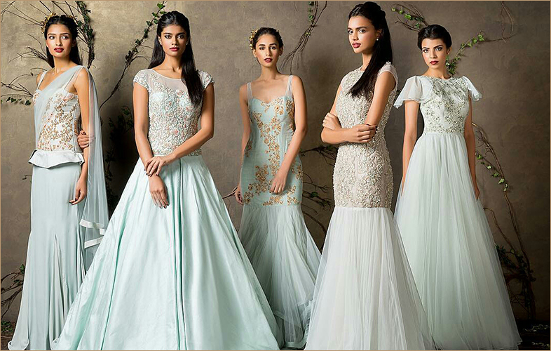 Elegant Gowns In Indo Western Style For Women Of All Ages