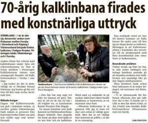 23 maj 2011 - Eskilstuna Kuriren