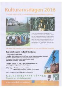 affisch kulturarvsdagen 2016