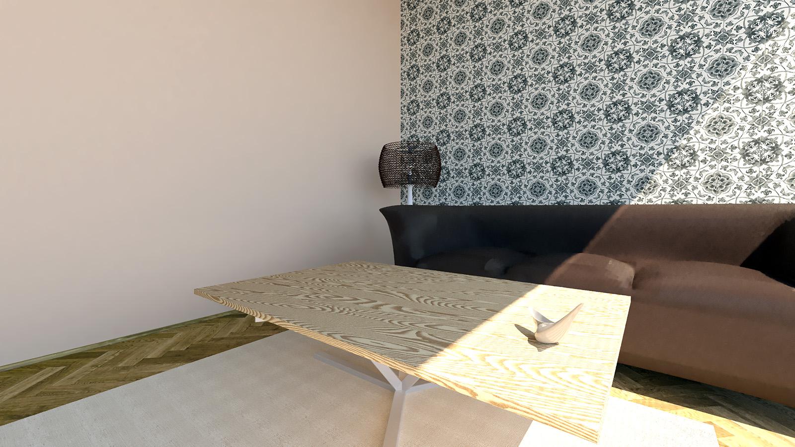 Komlo - beige wall paint
