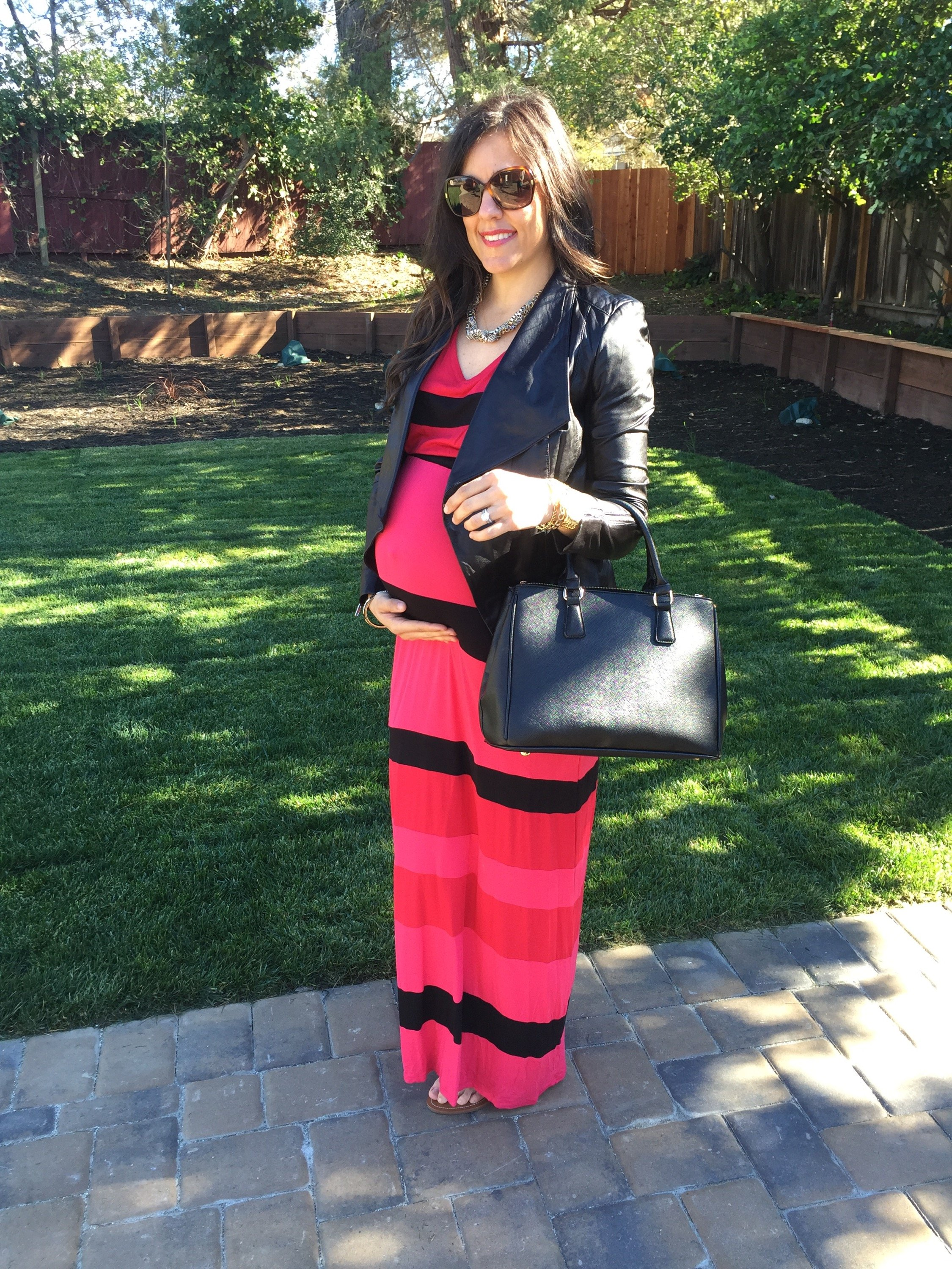 how to style the bump | maternity fashion | fall style | fall fashion tips | cool weather fashion | maxi dress for winter
