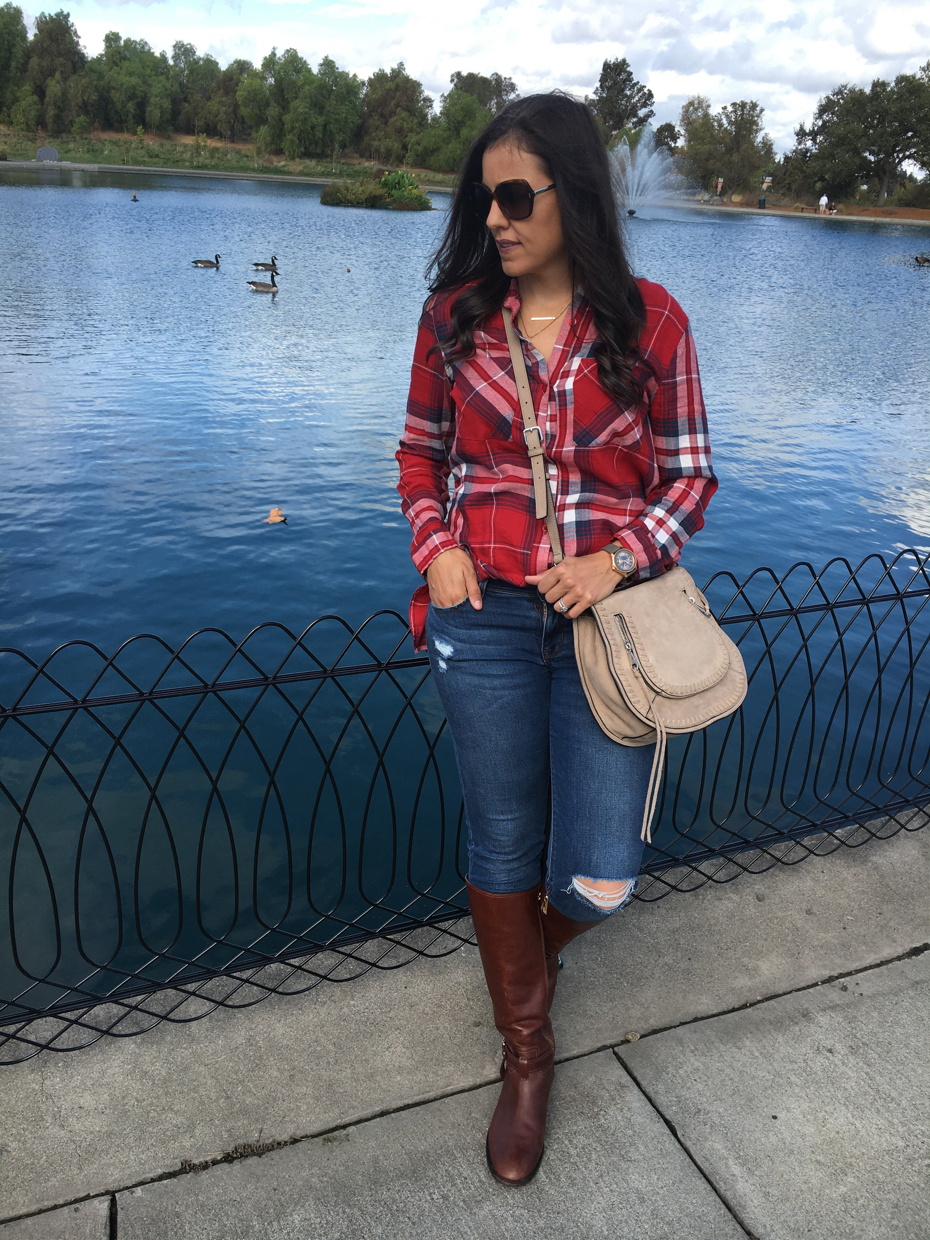 How to style plaid | fall and winter style ideas | fall fashion tips | cool weather fashion |