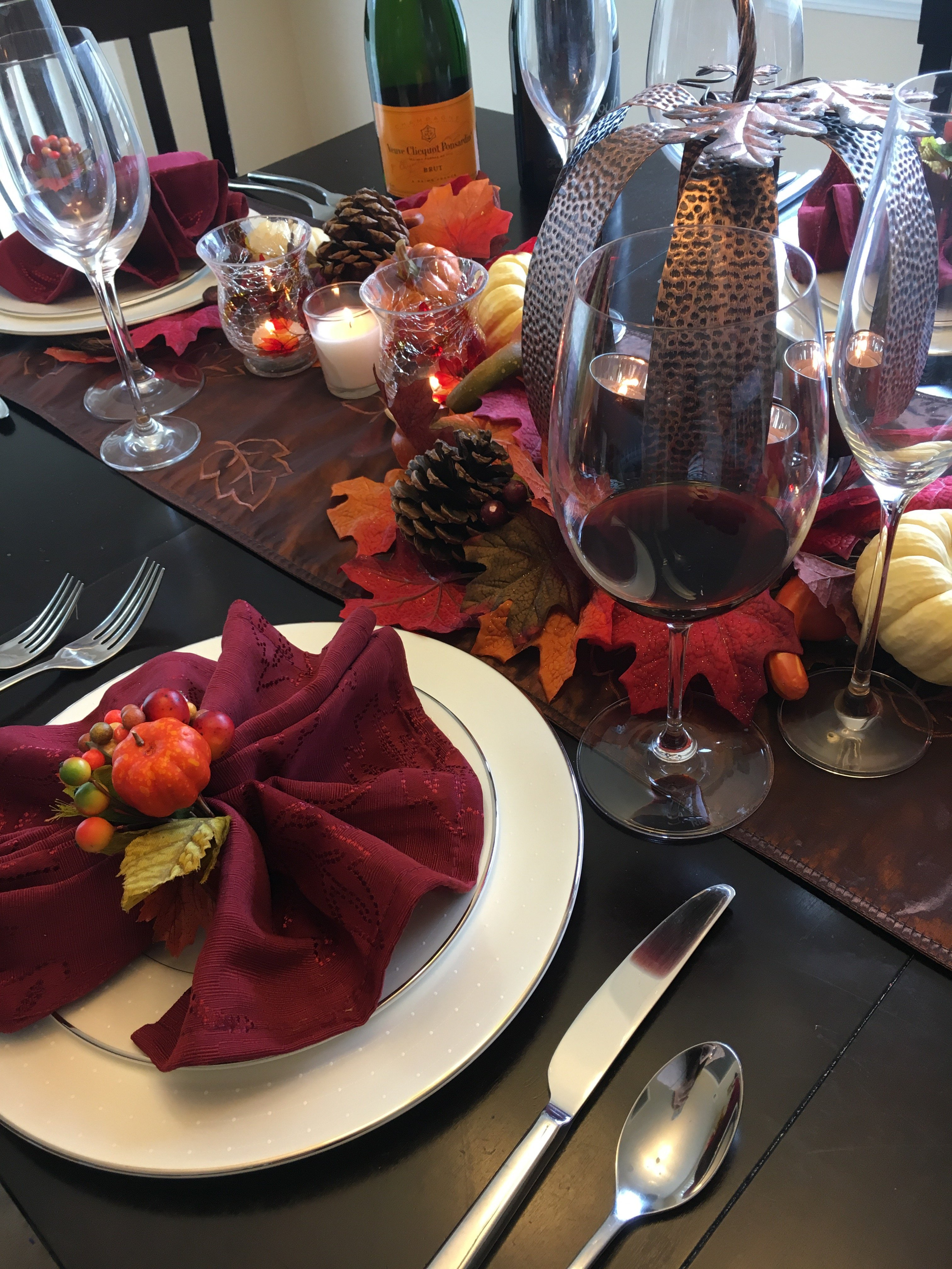 Thanksgiving Tablescape | tips for fall decorating | Thanksgiving decor | decorating tips for Thanksgiving