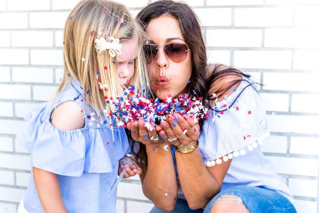 4th of July Activity Ideas + Red White Blue Favorites to wear all year