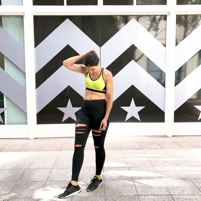 Workout routine and tips