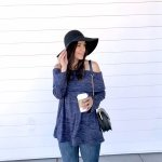 Style tips for off the shoulder sweater_