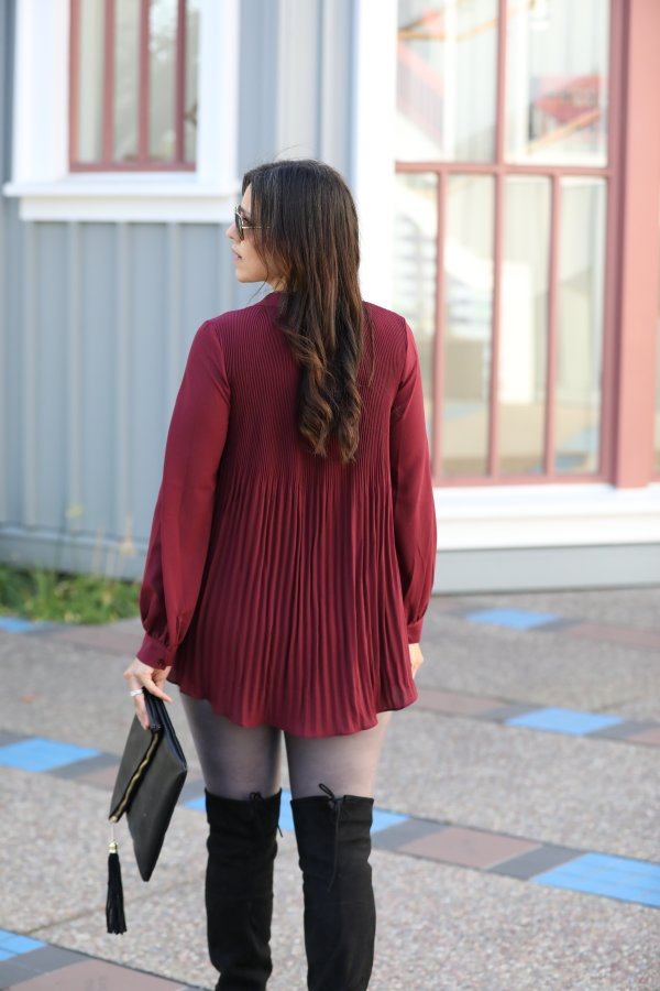 Over the boots outfit
