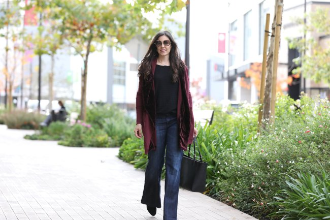 styling tips for flared jeans