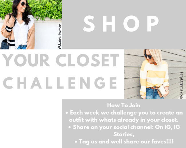Shop Your Closet Challenge